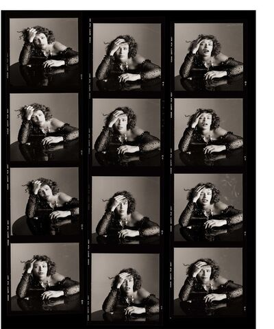 Matthew Rolston, 'Kelly LeBrock as Sloth, Contact Sheet, Los Angeles', 1985