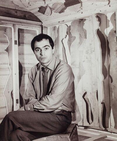 Plinio De Martiis, 'Mario Ceroli (Cassa Sistina)', 1965