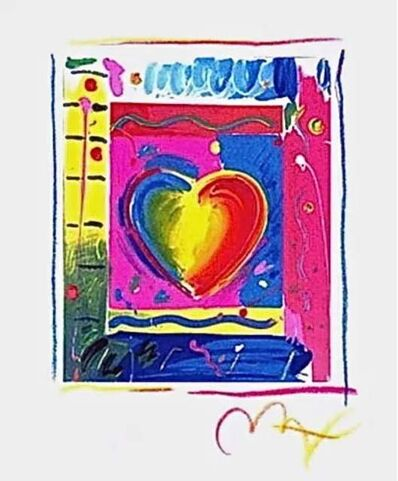 Peter Max, 'Heart III', 1998