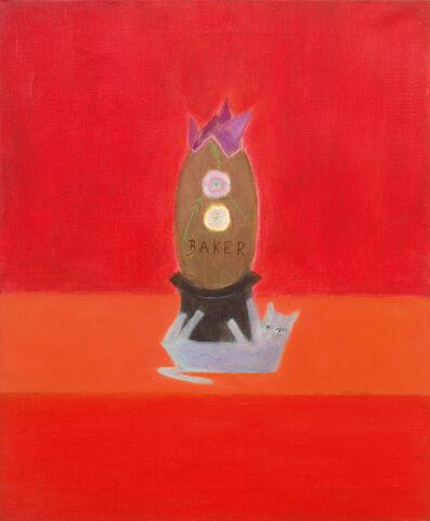 Craigie Aitchison CBE RSA RA, 'Baker's Egg', 1974