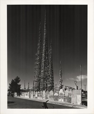 Julius Shulman, 'The Watts Tower. Los Angeles, Ca.', 1966