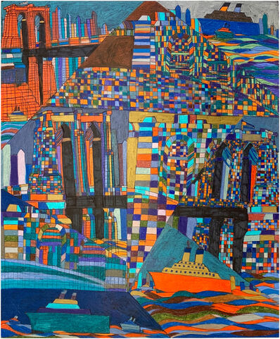Robert Latchman, 'The Bridge Defined by Many Colors', 2019