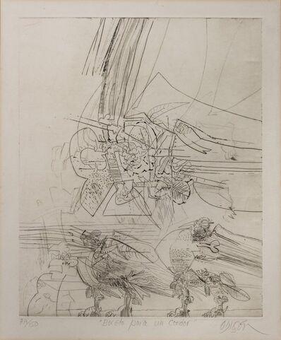 Alejandro Obregón, 'Boceto para un condor', s.f.