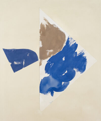 Peter Joseph, 'Dim blue with grey blue', 2006