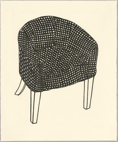 Humphrey Ocean, 'Fat Check Chair', 2006