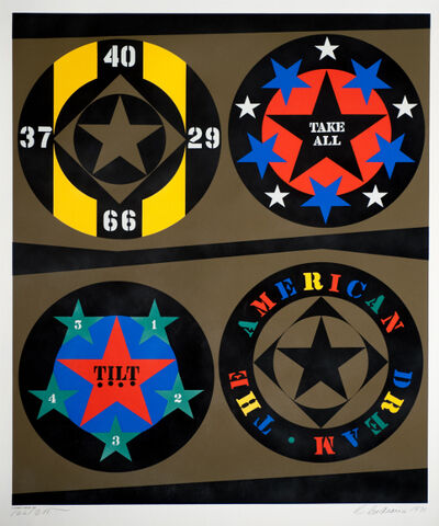 Robert Indiana, 'The American Dream (Decade Series)', 1971