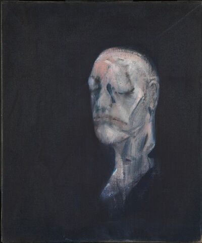 Francis Bacon, 'Study for Portrait II (after the Life Mask of William Blake)', 1955