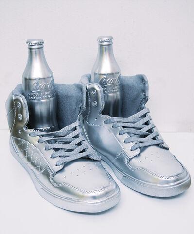 Michael Pybus, 'Coke Silver (Warhol)', 2017