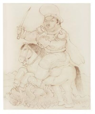 Fernando Botero, 'Untitled (St. George)', 1983