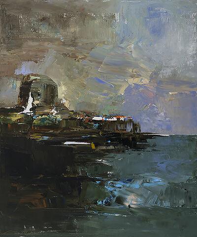 André Pitre, 'La couleur du lieu no 1', 2016