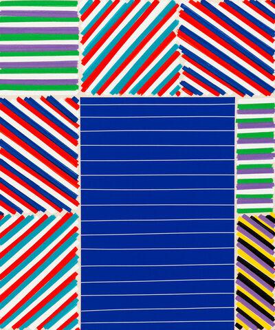 Bradley Harms, 'The Elegant Mess (Blue Bars)', 2016