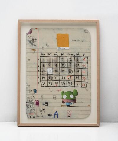 Edgar Plans, 'My calendar', 2019