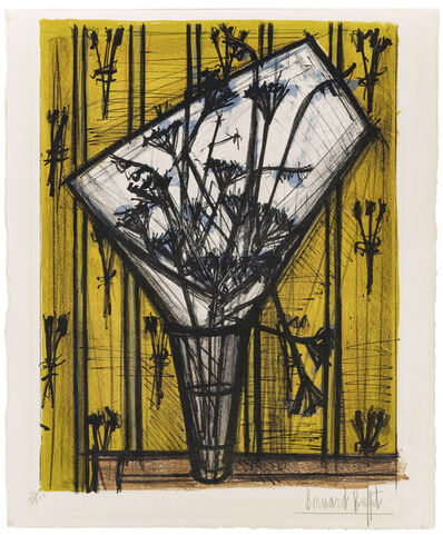 Bernard Buffet, 'Fleurs', 1955