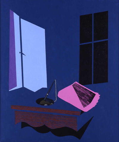 Patrick Caulfield, 'Evening Paper', 1999