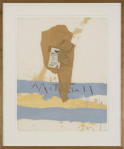 Robert Motherwell, 'U.S Art New York N.Y.', 1962