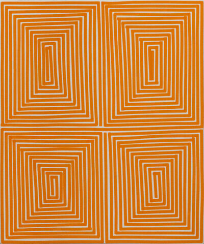Bradley Harms, 'Orange Coffer (Geo)', 2014