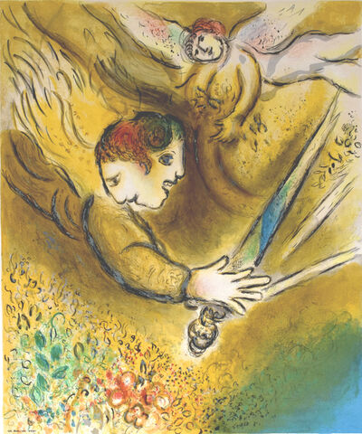 Marc Chagall, 'The Angel of Judgement | L'Ange du jugement ', 1974