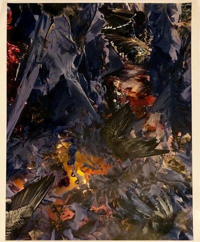 Jane Calvin, 'Relics 2 Elaborately Constructed Vintage Color Photograph Surrealist Image', 1980-1989