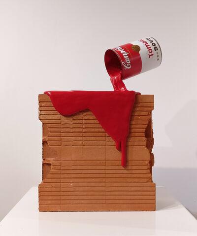 Pimax, 'Tomato Splash Brick', 2017