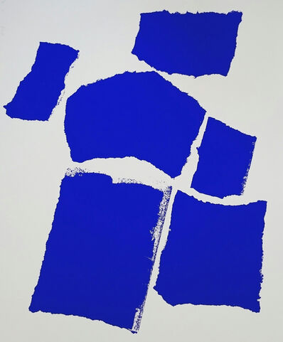 Charlotte Culot, 'BLUE', 2016