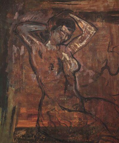 Suzanne Valadon, 'Nu (ébauche)'