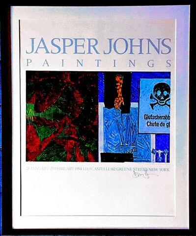 Jasper Johns, 'Jasper Johns Paintings at Leo Castelli (Hand Signed) from the Estate of Aviva and Jacob Bal Teshuva', 1984