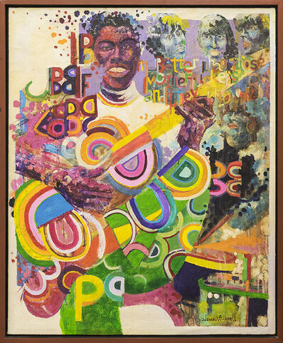 Wadsworth Jarrell, 'I Am Better Than Those Motherfuckers and They Know It', 1969