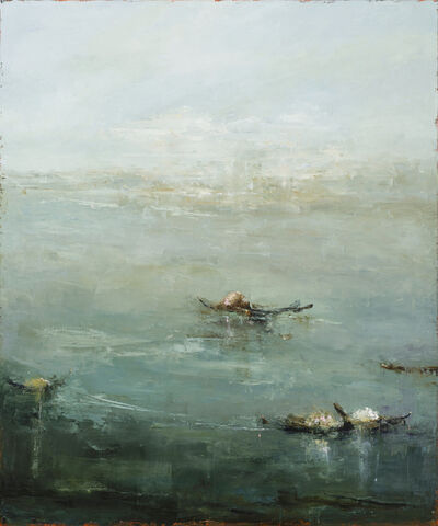 France Jodoin, 'The jade king and the green pebbles', 2020
