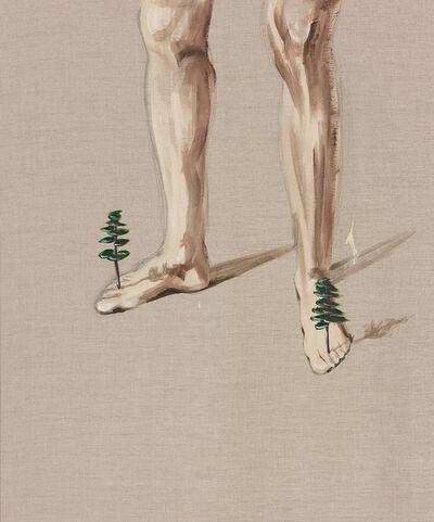 Marco Spitzar, 'Gelehrtenbeine -  In Balance with trees', 2013
