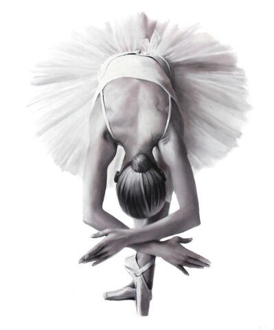 Ognian Zekoff, 'Ballet V (White series)', 2020