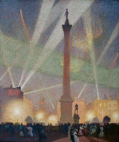 Sir Claude Francis Barry, 'Peace Night', 1919