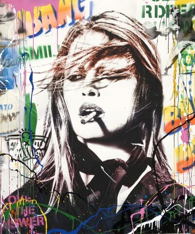 Mr. Brainwash, 'Brigitte Bardot ', 2018
