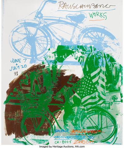 Robert Rauschenberg, 'Rauschenberg Works, exhibtion poster', 1991