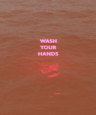 David Stenbeck, 'Wash Your Hands', 2020