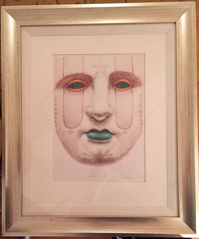 Ed Paschke, 'Round Face', 1998