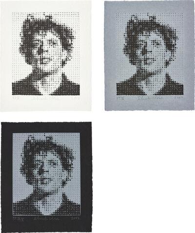 Chuck Close, 'Phil (Philip Glass)', 2002