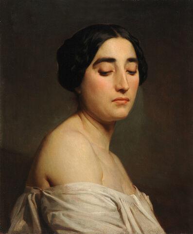 William-Adolphe Bouguereau, 'Disdain', 1850
