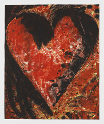 Jim Dine, 'Fresh, French and Beautiful', 1993