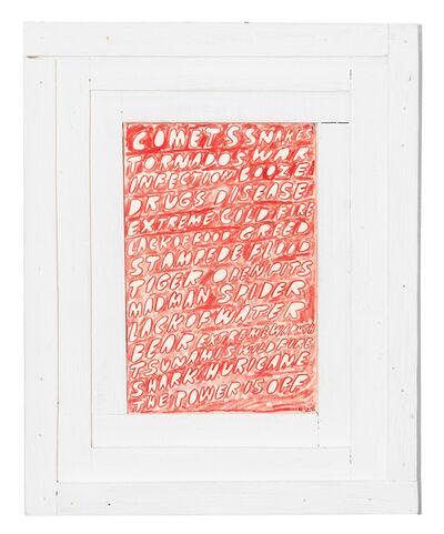 Nathaniel Parsons, 'Calamities', 2016