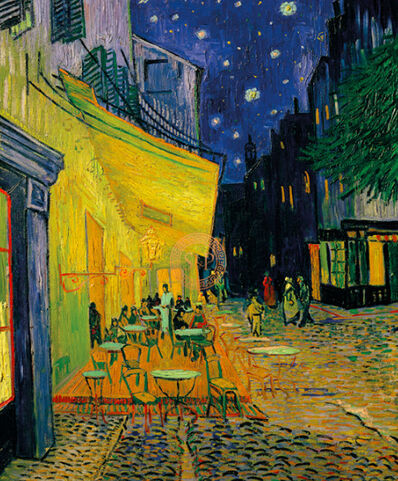 Vincent van Gogh, 'The Cafe Terrace On The Place Du Forum, Arles', 1888