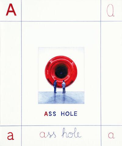 Giuseppe Stampone, 'Ass Hole', 2019