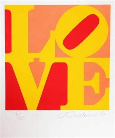 Robert Indiana, 'The Book of Love #10', 1996