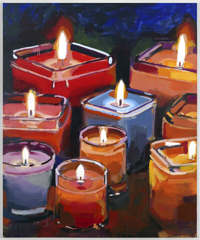 Walter Robinson, 'Candles'