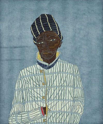 Stephen Chambers RA, 'Portrait of James Baldwin'