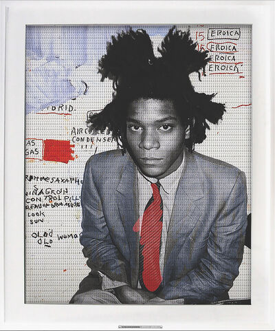 Jonathan Paul (aka Desire Obtain Cherish), 'Bureau of Drug Abuse - Basquiat', 2015