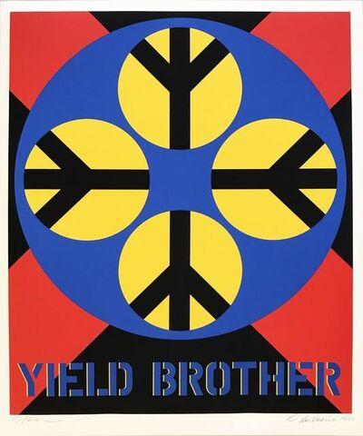 Robert Indiana, 'Decade (Yield Brother)', 1971