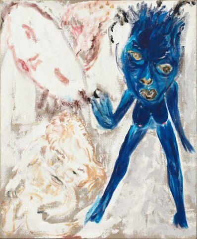 """Don Van Vliet, '""""Crepe and Black Lamps""""', 1986"""