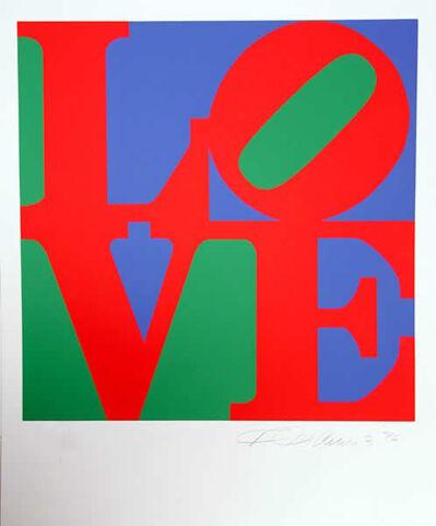 Robert Indiana, 'Book of Love 12', 1996