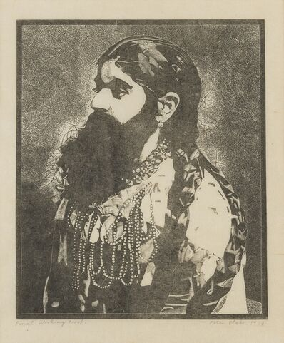 Peter Blake, 'Bearded Lady (from Side-show)', 1978