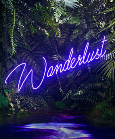 Yee Wong, 'Disco in the Jungle: Wanderlust Purple'